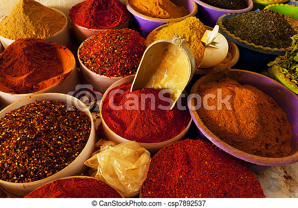 Spice market - csp7892537