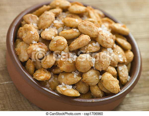 spiced, macadamia, noci, salato - csp1706960