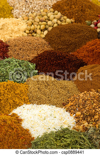 Spices and Herbs - csp0889441