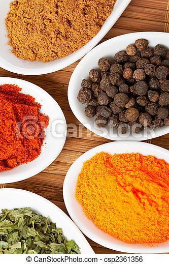 Spices background - csp2361356