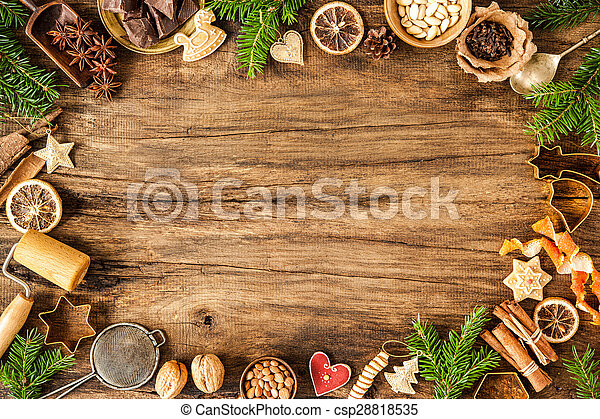Spices for Christmas cakes - csp28818535