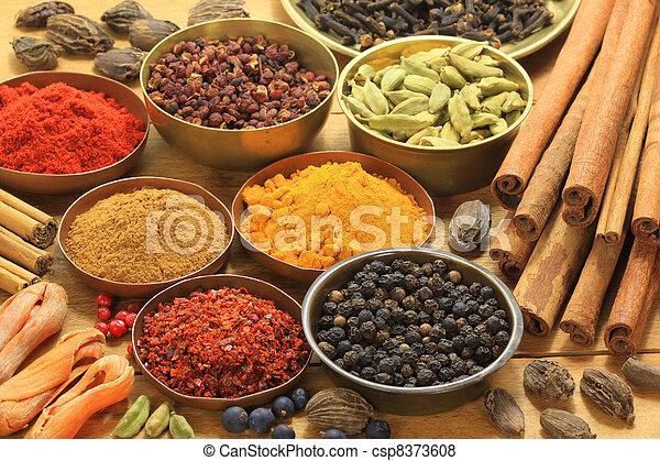 Spices - csp8373608