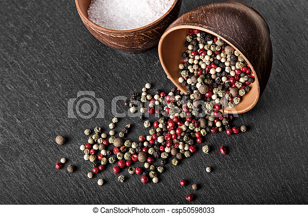 spices salt and pepper - csp50598033