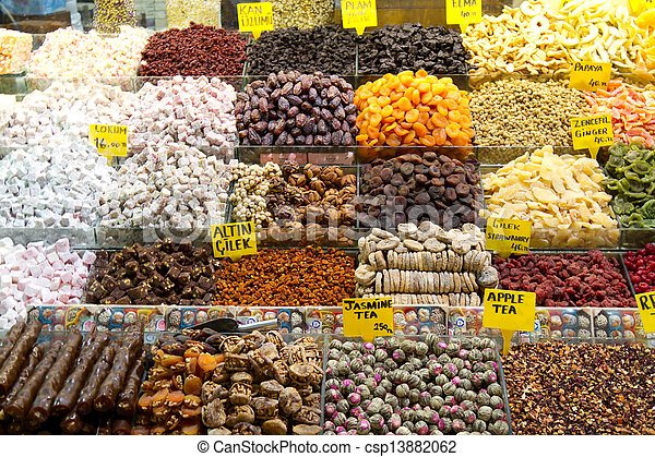 Spices, Teas, Delights - csp13882062