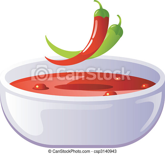 Spicy chili soup - csp3140943
