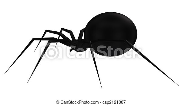 Spider Silhouette - csp2121007
