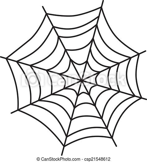 spider web art - csp21548612