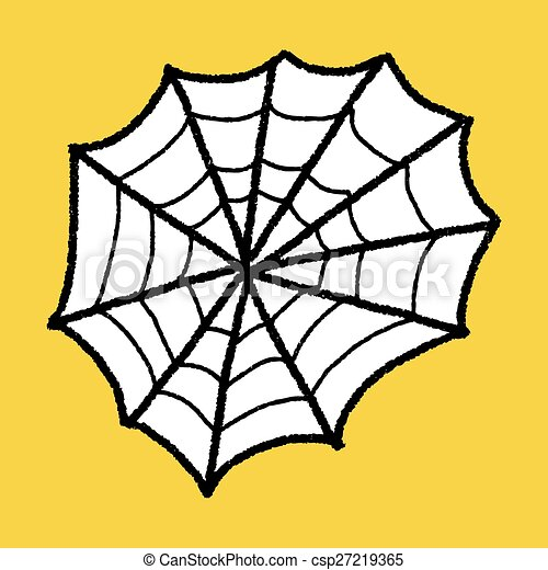 spider web doodle clip art vector search drawings and graphics rh canstockphoto com spider web clipart black and white spiderweb clipart