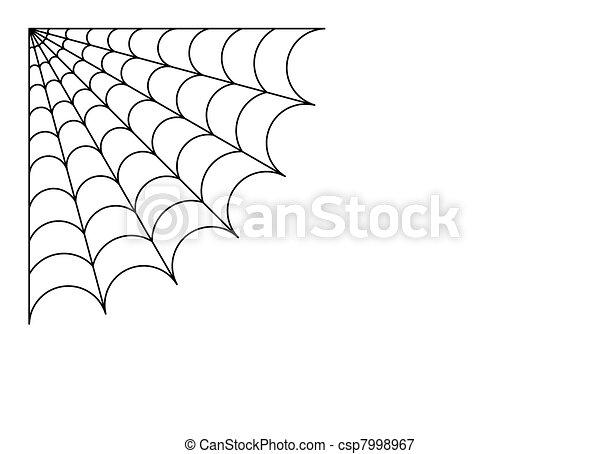 Spider web - csp7998967