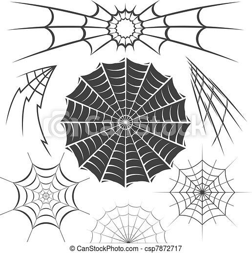 spider webs clip art collection of spider web designs