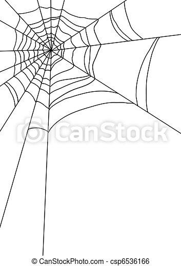 spiders web - csp6536166