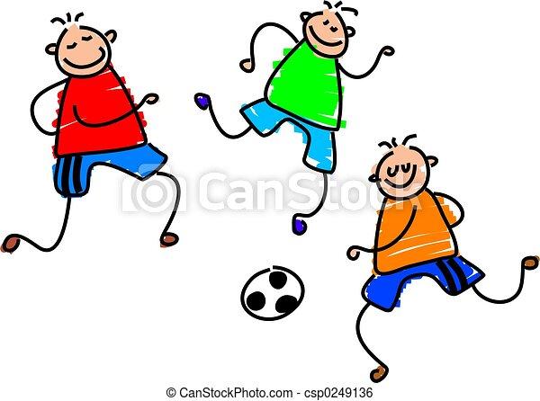 spiel, fußball - csp0249136