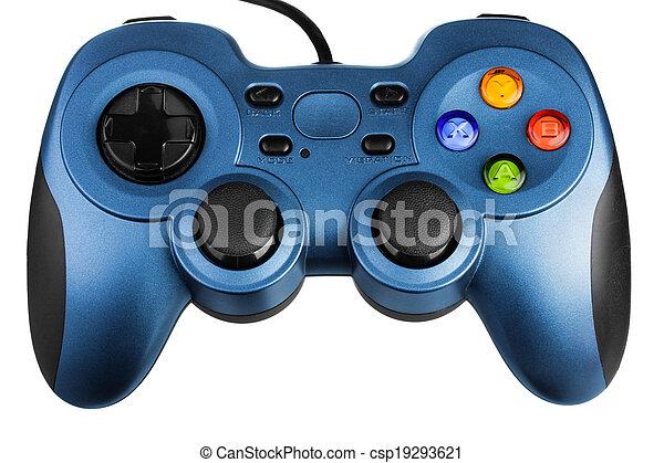 Videospiel-Controller - csp19293621