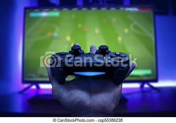 spiel, video, controller - csp55386238