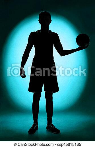 Basketballspieler - csp45815165