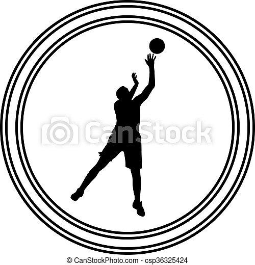 Basketballspieler - csp36325424