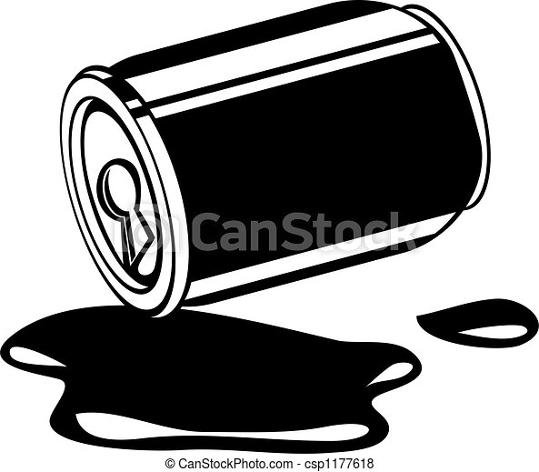 spilled drink - csp1177618