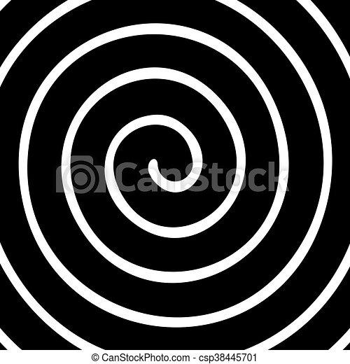 spiral background - csp38445701