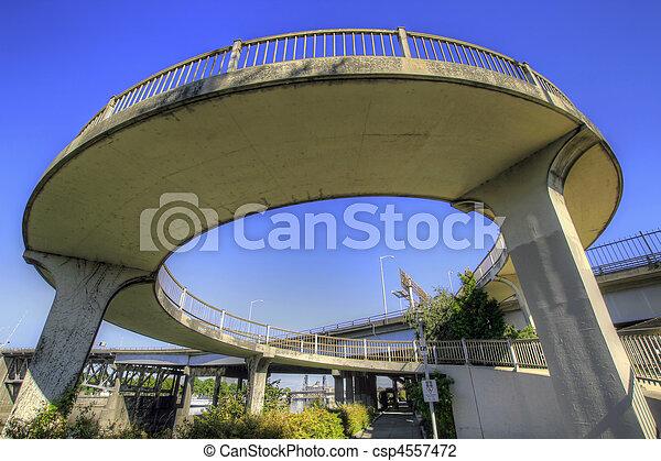 Spiral Bridge Walkway