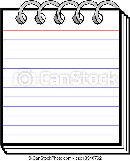 Spiral Notebook - csp13340762