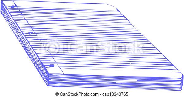 Spiral Notebook - csp13340765