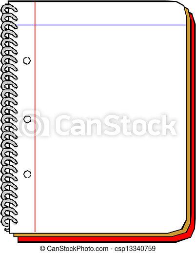 Spiral Notebook - csp13340759