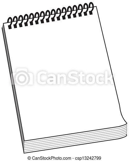 Spiral Notebook - csp13242799