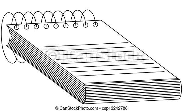 Spiral Notebook - csp13242788