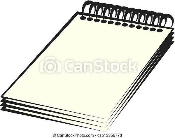 Spiral Notebook - csp13356778