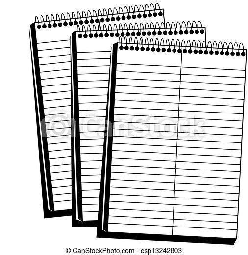 Spiral Notebook - csp13242803