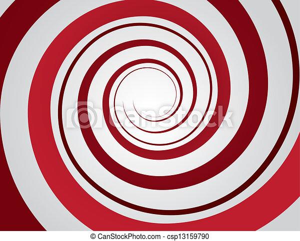 Spiral Red  - csp13159790