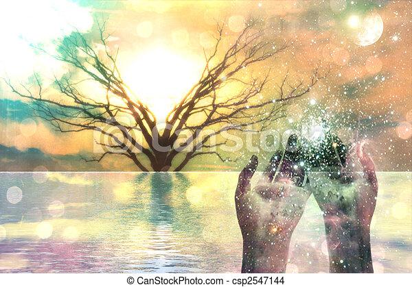 spirituale, composizione - csp2547144