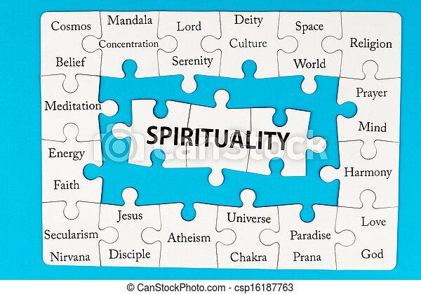 spiritualiteit, concept - csp16187763