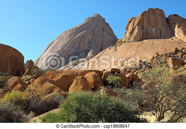Spitzkoppe, Namibia - csp19808647