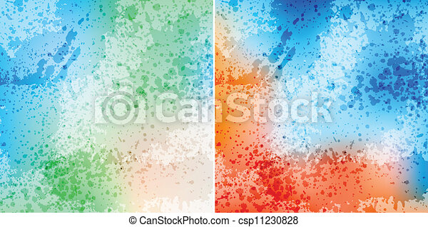 splash backgrounds - csp11230828