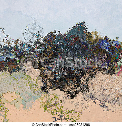 Splashes background - csp28931296