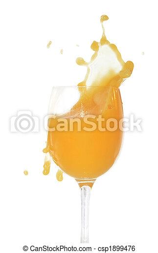 Splashing Orange Juice - csp1899476