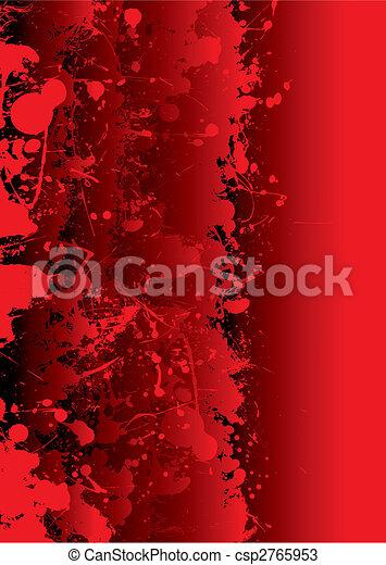 splat, levande, blod - csp2765953