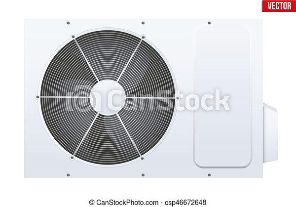 Split air conditioner system. - csp46672648