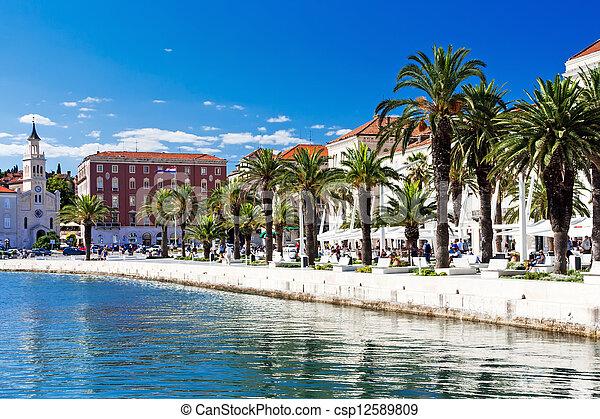 Split in Dalmatia - csp12589809
