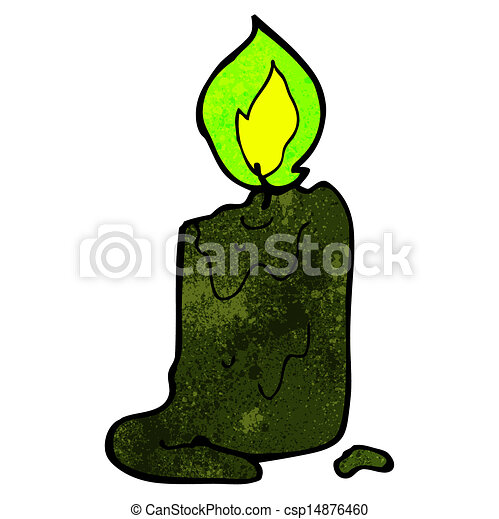 spooky black candle cartoon clip art vector search drawings and rh canstockphoto ca Skeleton Clip Art Spooky Tree Clip Art
