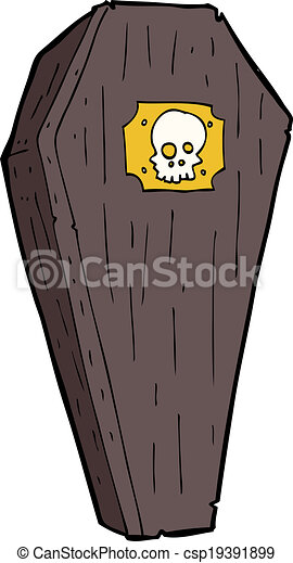 spooky cartoon coffin rh canstockphoto com cartoon coffin ship cartoon coffin pictures