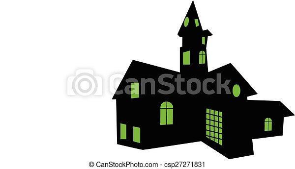SPOOKY HOUSE - csp27271831