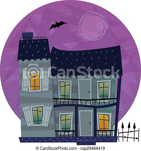 Spooky House - csp29466419