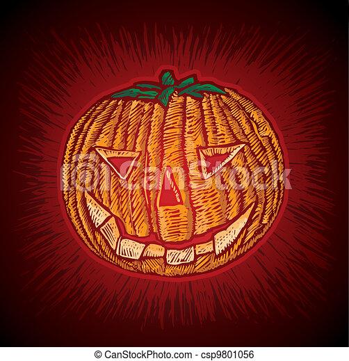Spooky Pumpkin - csp9801056