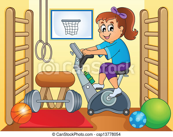 Sport and gym topic image 2 - csp13778054