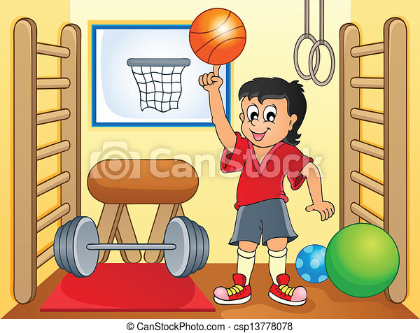 Sport and gym topic image 8 - csp13778078