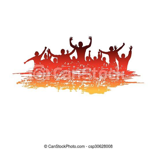 sport, bannière, evénements - csp30628008