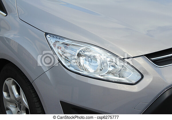 sport car close up shot - csp6275777