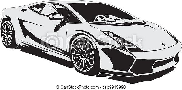 Sport Car Ex Class Made In Eps